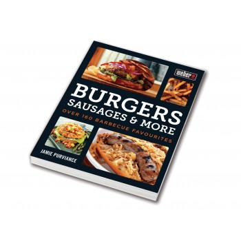 LIBRO WEBER - BURGERS SAUSAGES AND MORE