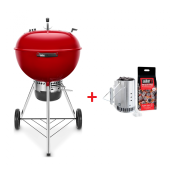 BARBECUE WEBER MASTER-TOUCH 57 cm CRIMSON RED GBS